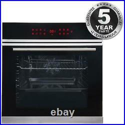 13 Function Touch Control Programmable Single 76L Built-in Oven SIA BISO11SS