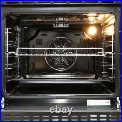 60cm Built-in Single Rack Electric Oven Plug 50-250 LED Display Timer uk