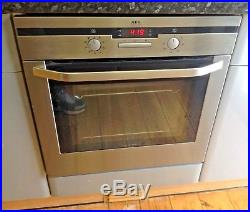 AEG B4115-5-M Multifunction Electric Stainless Steel Single Oven REDUCED