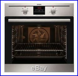 AEG BE330302KM built-in electric single bi-oven