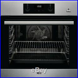 AEG BES355010M Built In Electric Single Oven With Added Steam Function Kitchen