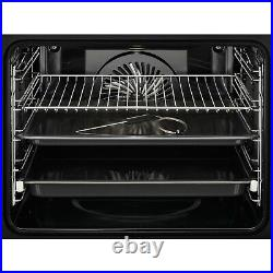 AEG BPE742320M SenseCook Pyrolytic Touch Control Single Oven With Food Sensor
