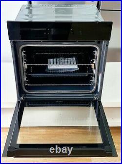 AEG BPK748380B SenseCook Pyrolytic 60cm Built In Smart WiFi Single Oven in Black