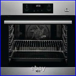 AEG BPS356020M SteamBake Multifunction Built-in Single Oven A117174