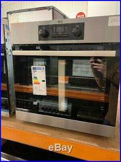AEG Beb231011m Single Electric Oven Built in Stainless Steel