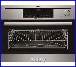 AEG KS8404721M Electric Single Compact Steam Oven Stainless Steel HA1500