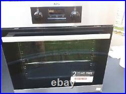 AEG Single Electric Fan Oven Integrated Built In Stainless Steel RRP 400.00£