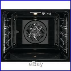 AEG SteamBake BES355010M Single Built-In Electric Steam Oven, A Energy #12751802