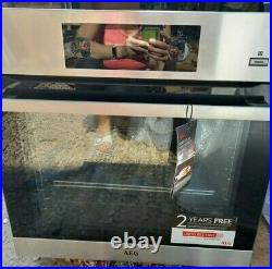 AEG built in single oven, new, never used