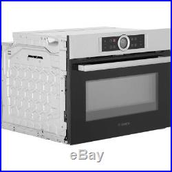 BOSCH SERIES 8 CMG633BS1B BUILTIN ELECTRIC SINGLE OVEN/MICROWAVE Brushed Steel