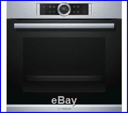 BOSCH Serie 8 HBG634BS1B Electric Single Oven Stainless Steel (2618)