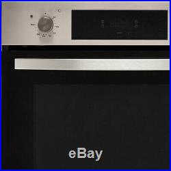Baumatic BOFTU604X Built In 60cm A+ Electric Single Oven Stainless Steel New