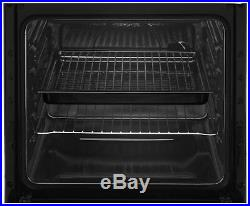 Beko KS530S Free Standing 50cm 4 Hob Single Electric Cooker Silver