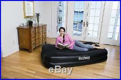 Bestway Premium Single Inflatable Air Bed Mattress Built in Electric Air Pump
