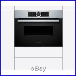 Bosch CMG633BB1B Serie 8 Built In 60cm Electric Single Oven Black New