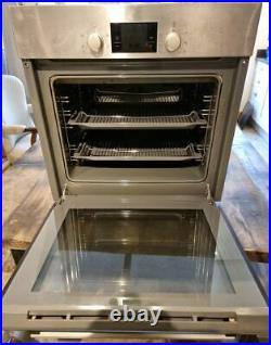 Bosch HBA13B150B Brushed Steel Hot Air Electric Built-in/under Single Oven