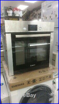 Bosch HBA63R252B Serie 6 Built-in Single Electric Oven With Pyrolytic Cleaning
