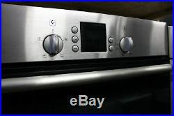 Bosch HBN131250B Built-in Single Oven Brushed Steel