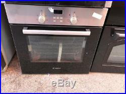Bosch HBN331E6B Built-in Integrated Single Oven Black Stainless Steel Series 2