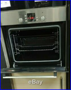 Bosch HBN331E7B Electric Built-In Single Oven, Brushed Stain/ Steel (Ex-Display)
