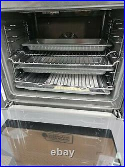 Bosch HBS534BS0B Serie 4 Built In 59cm A Electric Single Oven Stainless Steel