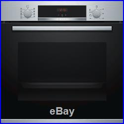 Bosch HBS534BS0B Serie 4 Multifunction Electric Built-in Single Oven HBS534BS0B
