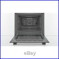 Bosch HHF113BA0B Serie 2 Electric Built-in Single Fan Oven Black HHF113BA0B