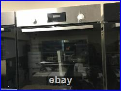 Bosch HHF113BR0B Serie 2 Integrated Built-In Single Oven Stainless Steel