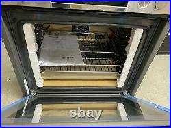 Bosch HRS538BS6B Serie 6 Electric Single Oven With Added Steam Stainless Steel