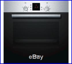 Bosch Serie 2 HBN331E3B Electric Built-in Single Fan Oven Stainless Steel 4