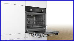 Bosch Serie 2 HHF113BA0B Single 60cm Built-in/under Electric 3D Hot Air Oven