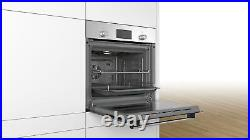 Bosch Serie 2 HHF113BR0B Single 60cm Built-in/under Electric 3D Hot Air Oven