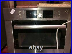 Bosch Serie 8 Built-In Compact Single Oven and Microwave Stainless Steel