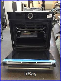 Bosch Serie 8 HBG634BB1B Electric Single Oven Black A+ Rated #146164