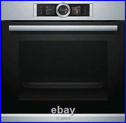 Bosch Serie 8 HRG6769S6B Single Built In Electric Oven, Stainless Steel
