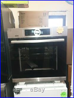 Bosch series 8 HBG6764S6B Built-In Single Oven with Home Connect, Brushed Steel