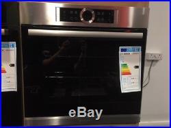 Bosch single Oven HBG634BS1B built in stainless steel glass door digital control