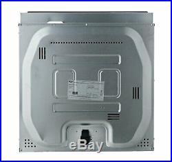 Bush RLBFO Built In LED Display Single Electric Oven 73L Black