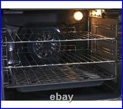 CANDY Built In Single Electric Fan Oven With Grill 70 Litres FCT415N Black