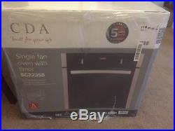 CDA SC223SS Four Function Electric Built-in Single Fan Oven Stainless Steel