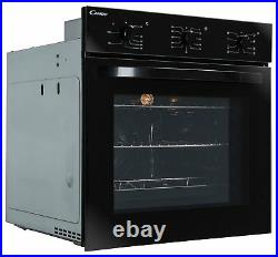 Candy FCS602N/E Built In Single Electric Multifunction Oven Black
