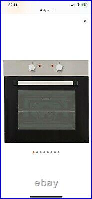 Cooke & Lewis CSB60A Black Built-in Electric Single Conventional Oven