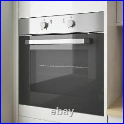 Cooke & Lewis CSB60A Built- In Single Electric Oven Stainless Steel 595 x 595mm