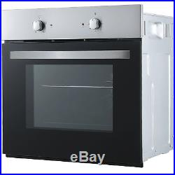 Cookology Single Electric Fan Forced Oven & 60cm Touch Control Ceramic Hob Pack
