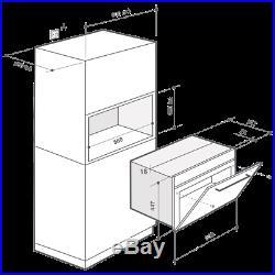 De Dietrich DKC7340W Built In 59cm Electric Single Oven White New