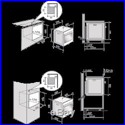 De Dietrich DOP7350A Built In 59cm A+ Electric Single Oven Black New