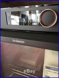 De Dietrich DOP7350A Built In Electric Single Oven Black #147254