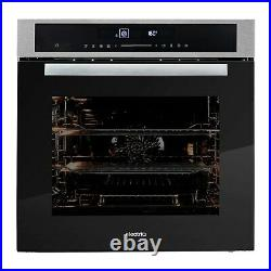 ElectriQ 72L Touch Control Electric Plug In Fan Single Oven Stainless Steel