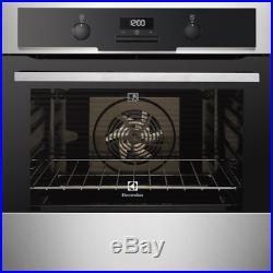 Electrolux EOC5440AAX Built In Pyrolytic Single Oven Stainless Steel HA2985