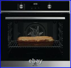 Electrolux KOFDP40X Built In Oven Single Pyrolytic Stainless Steel